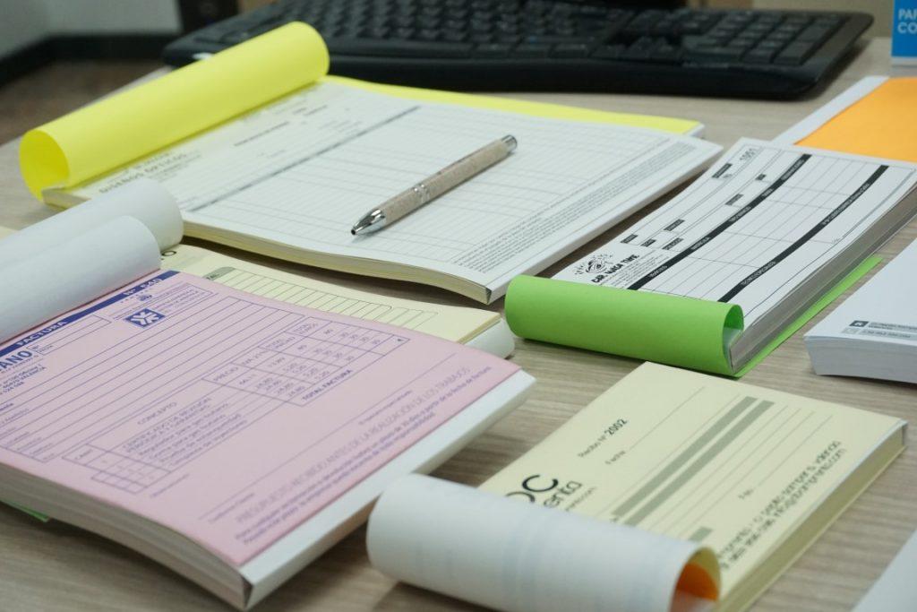 albaranes variados para personalizados para registros de servicio técnico