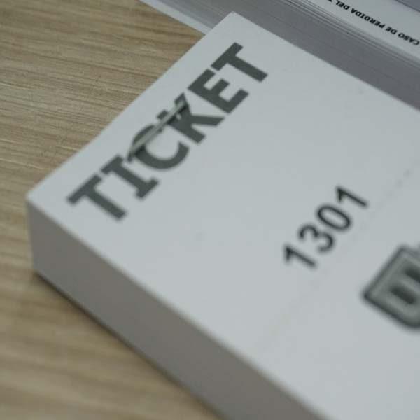 tickets para rifas