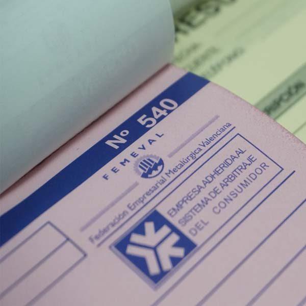 talonarios para recetas médicas con logo y numeración